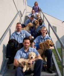 Service Dog Program Helps Veterans In and Out of Prison