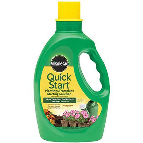 Miracle-Gro Quick Start Planting and Transplanting Starting Solution for Composting