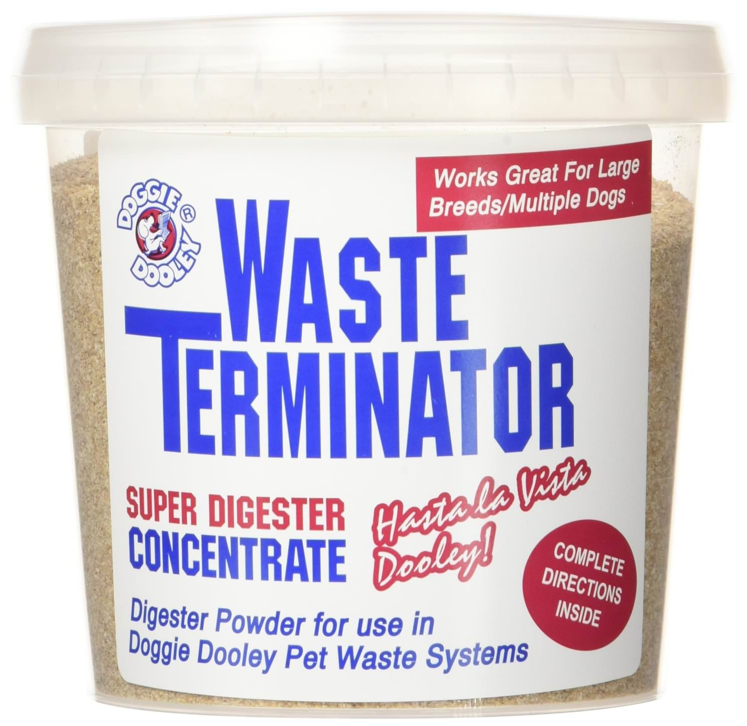 Doggie Dooley-Waste Terminator for your Dog Poop Compost