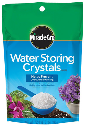 Miracle-Gro Water Storing Crystals for Composting