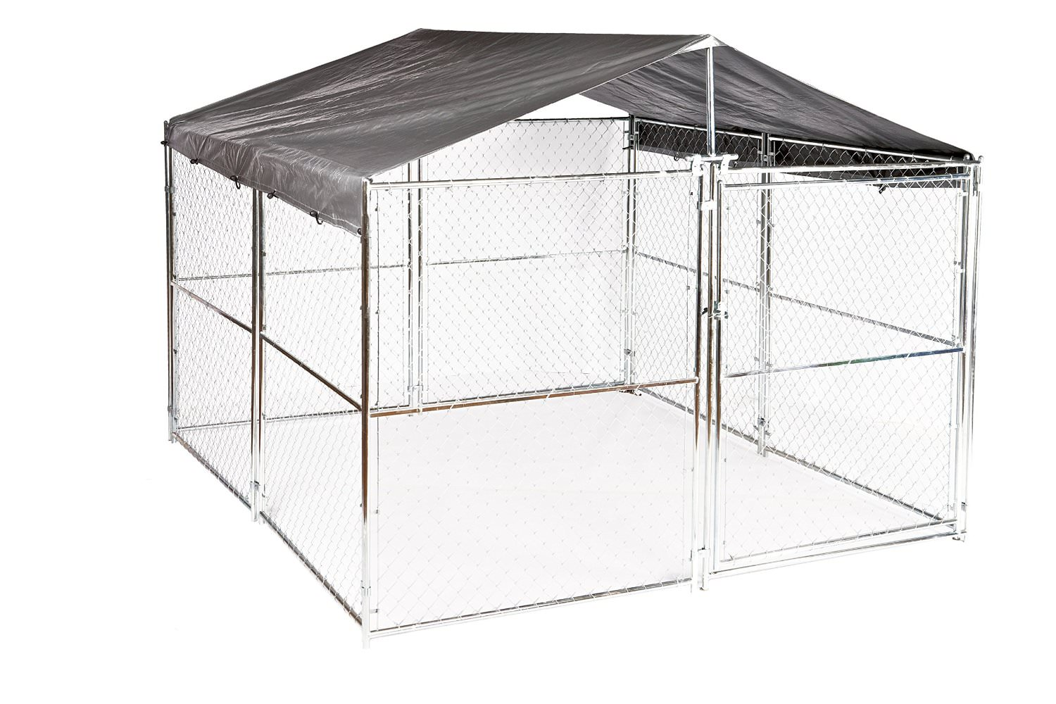 great outdoor dog kennel flooring ideas | animal hub