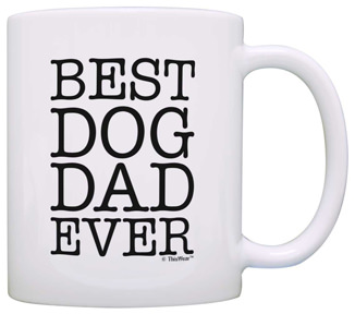 Dog Dad Coffee Mug Gift