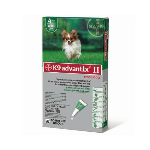 K9 Advantix provides protection from more biting pests than the leading competitor.