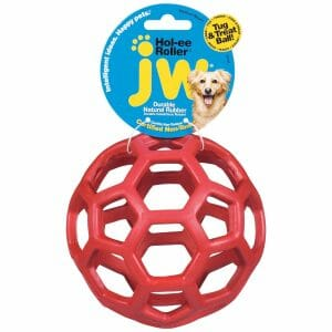 Petmate JW Hol-Ee Roller Dog Toy Medium Assorted 4.5″ x 4.5″ x 4.5″