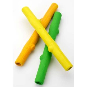 Ruff Dawg Twig Dog Toy Assorted Colors 6″ x 3″ x 3″